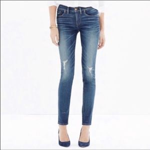 Madewell Belmont skinny jeans